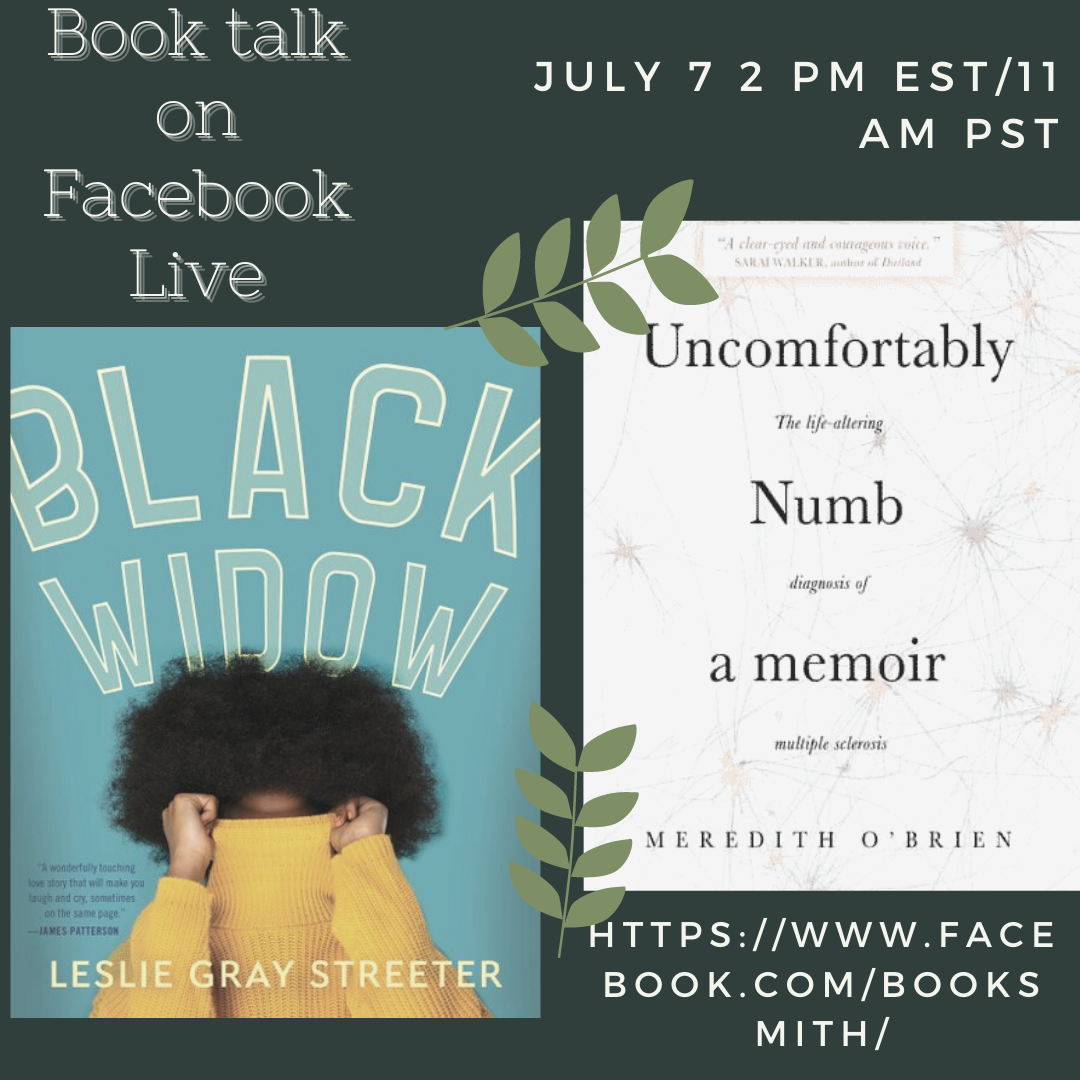 Book talk on Facebook Live