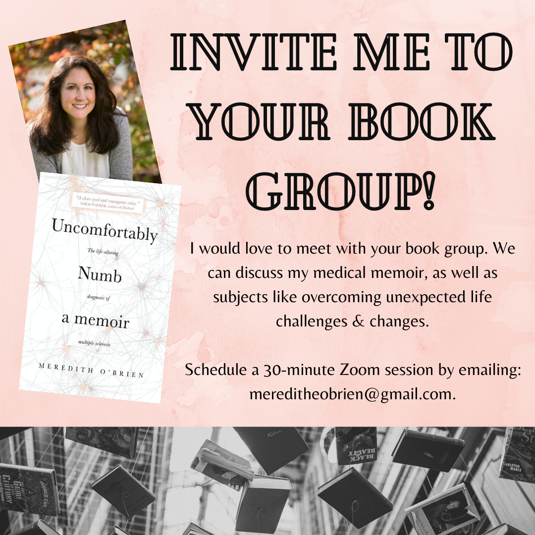 Invite me to your book group!
